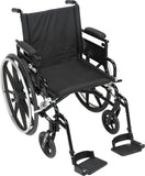 "Drive Medical Viper Plus GT Wheelchair (Seat Width 18"") - SpaSupply"