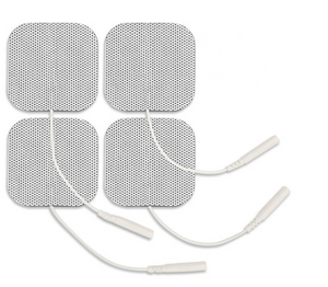 "2""x2"" White Electrodes (4 Pads) - SpaSupply"