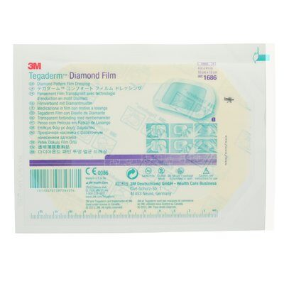 3M Tegaderm Diamond Pattern Film Dressing - SpaSupply
