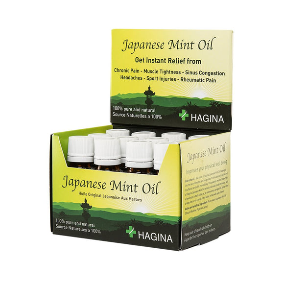 Hagina Japanese Mint Oil 20ml (Box of 12)