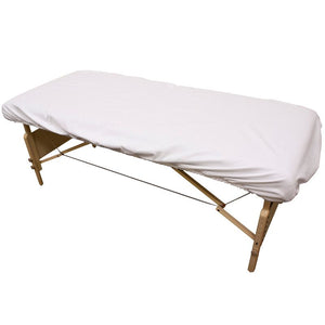 "Flannel Fitted Massage Table Sheet 75"" x 32"""