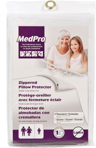 MedPro Vinyl Zippered Pillow Protector