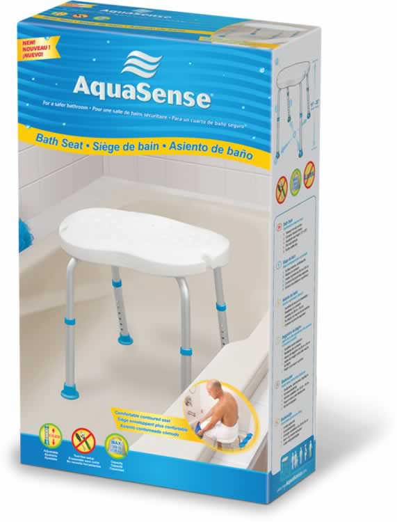AquaSense Adjustable Bath Seat w/o Back - SpaSupply