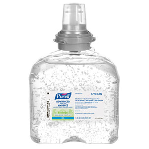 Purell TFX Advanced Gel Hand Sanitizer Refill, 70% Alcohol Content Code 5770-04-CAN 1200 ml (Case of 4)