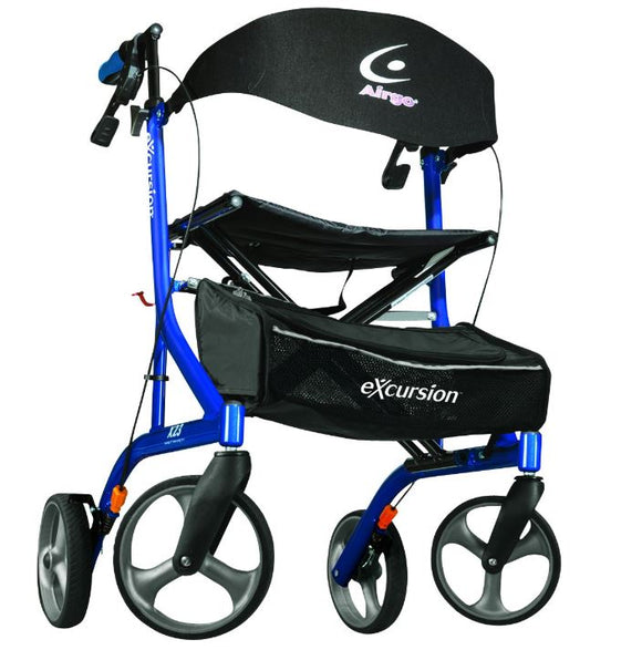Airgo eXcursion X23 Lightweight Rollator - SpaSupply