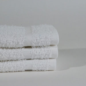 "Premium Quality Cotton Face Towel 12""x12"" One Dozen"