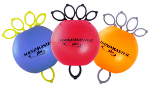 Handmaster Plus Hand Exerciser Kit (Purple, Red, Orange) - SpaSupply