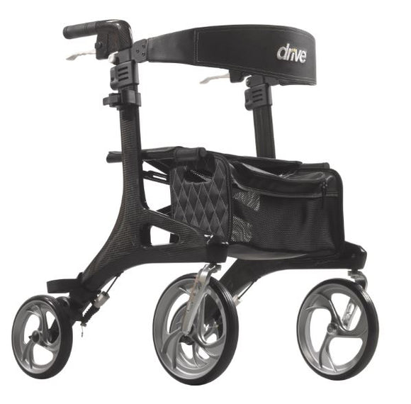 Drive Medical Nitro Elite CF Carbon Fiber Rollator - SpaSupply