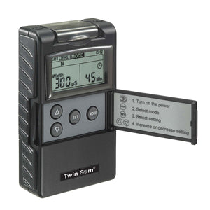 Twin Stim TENS and EMS Combo 2nd Edition - SpaSupply