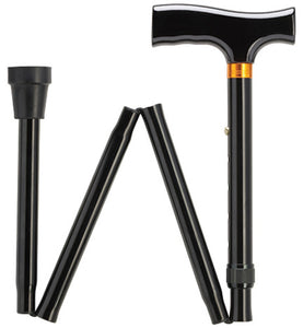 Aluminum Folding Cane, Soft Handle - SpaSupply