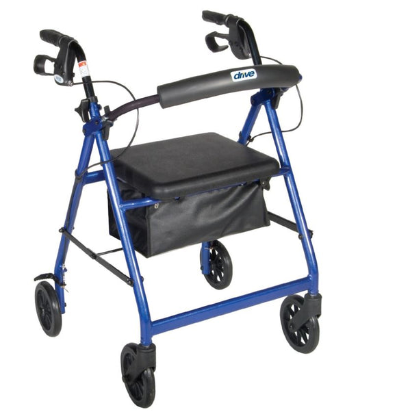 Drive Medical Aluminum Rollator, 6