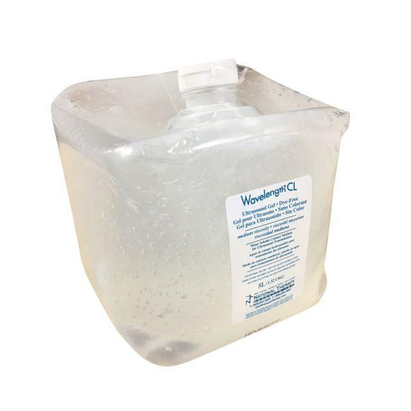 Wavelength Clear Ultrasound Gel 5 Litre - SpaSupply