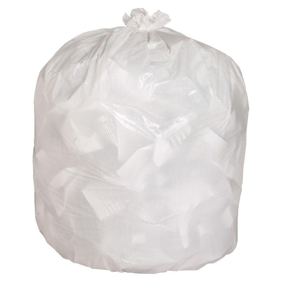 Strong Clear Series Garbage Bags (39 x 46in, 100/Case)