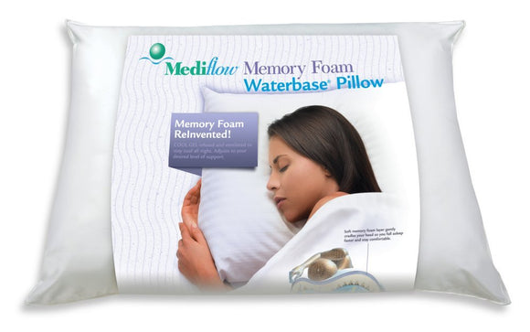 Mediflow Memory Gel Foam Waterbase Pillow - SpaSupply