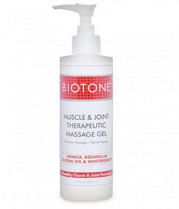 Biotone Muscle & Joint Therapeutic Massage Gel 8 oz - SpaSupply