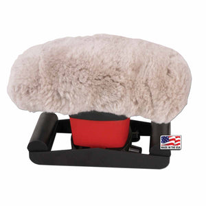 Jeanie Rub Genuine Sheepskin Pad Cover - SpaSupply
