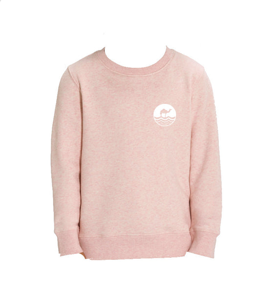 Kids Round Neck - Heather Pink