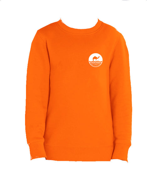 Kids Round Neck - Orange