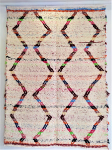 Marrakesh large rug - Off-white / multicoloured M01