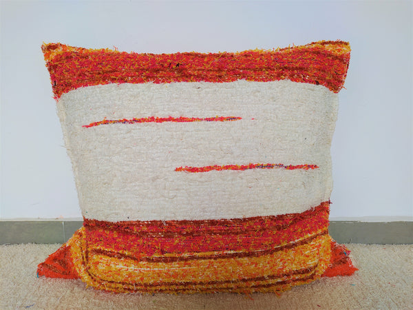 Off-white_and_orange_eco_handmade_cushion_65x65