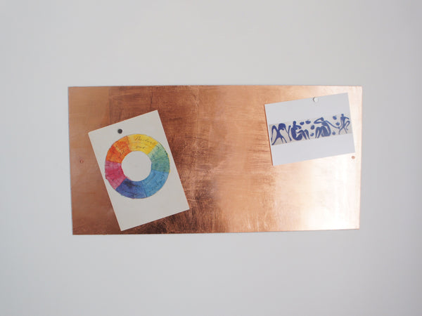 Copper Magnetwand / Whiteboard