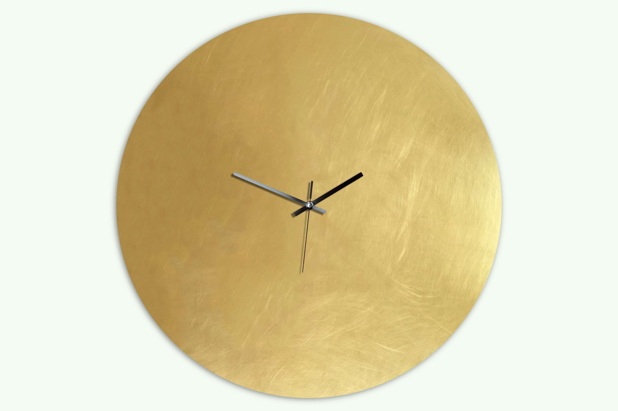 Pure Brass Large - Wanduhr Messing - Wall Clock - 56 cm