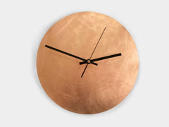 Copper Raw - Wanduhr