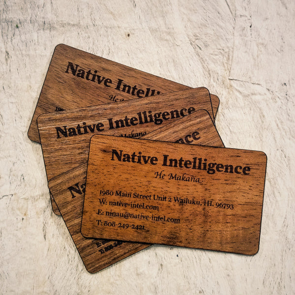 Native Intelligence Gift Card