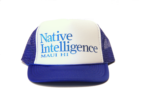 Native Intelligence Maui HI Trucker Hat