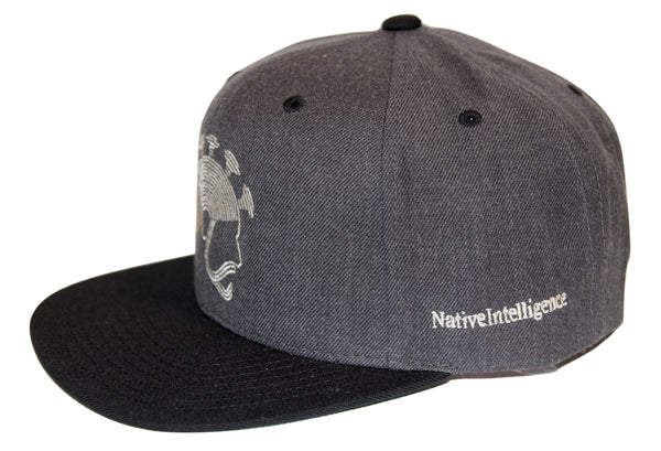 NI Designs Aliʻi Hat Black & Gray