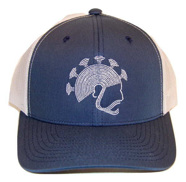 NI Designs Aliʻi Hat Navy & White