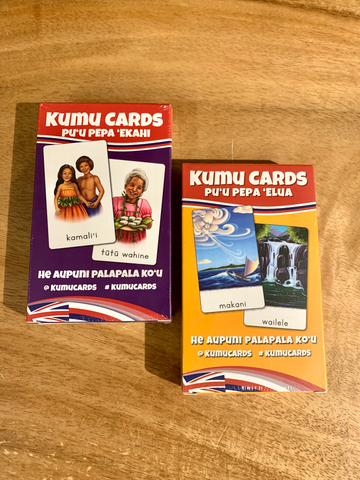 Kumu Cards-Hawaiian Flashcards