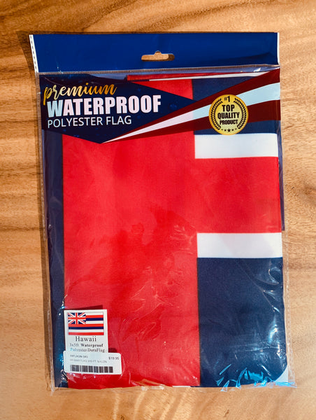 3ʻ x 5ʻ Waterproof Polyester