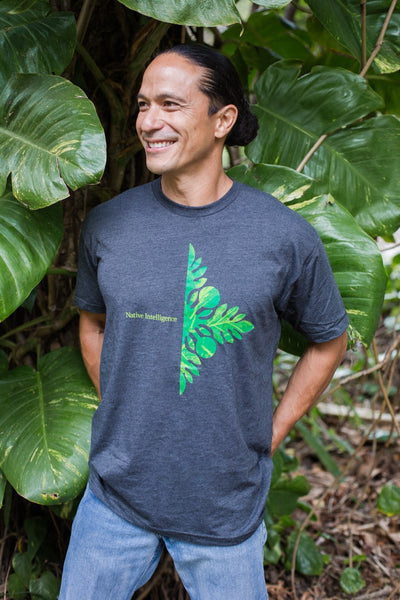 NI Designs ʻUlu T-Shirt Gray