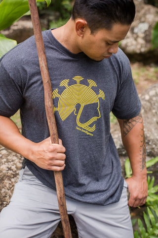 NI Designs Aliʻi T-Shirt Gray