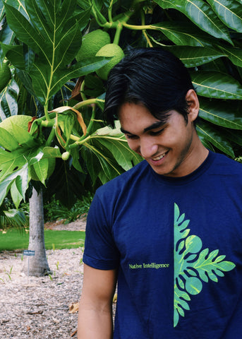 NI Designs ʻUlu T-Shirt Navy