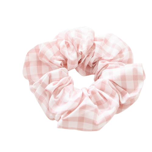 boxes print scrunchie