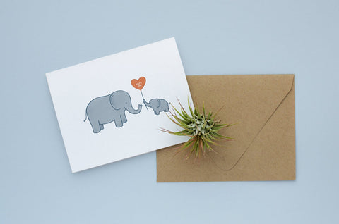 Cute Elephant Card