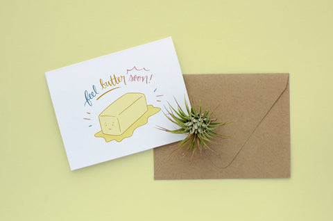 Get Butter Soon Card