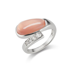 Rose Quartz Ring By Kathy Levine
