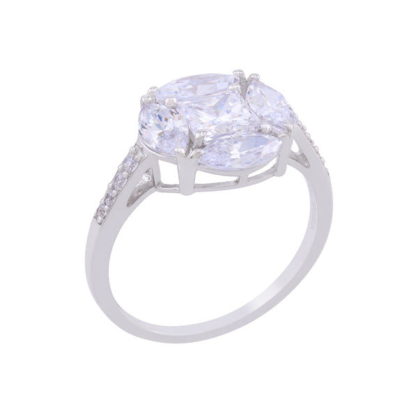 St. Maarten Sterling CZ Ring by Kathy Levine