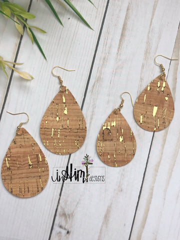 Gold Speckled Cork - In Him Designs