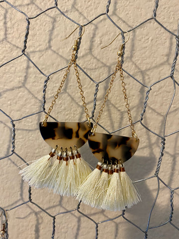 Leopard Chain Tassel - In Him Designs