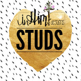 Studs - In Him Designs