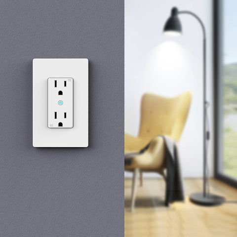 Smart Wall Outlet WIFI-US-003 $28 Each