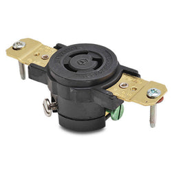 NEMA L5-15 LOCKING RECEPTACLE - 15A 125VAC 2-POLE 3-WIRE