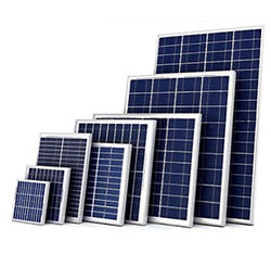 12 Volts Solar Panel for DC 12V Battery Charging and Off Grid Applications