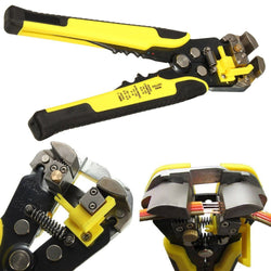 Professional Automatic Wire Striper Cutter Stripper Crimper Pliers Terminal Tool Free Shipping