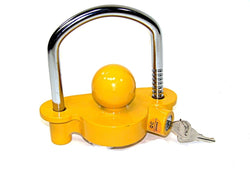 "Hitch Lock Universal Coupler Hitch Trailer Lock fits 1-7/8"", 2"", and 2-5/16"" HD Free Shipping"