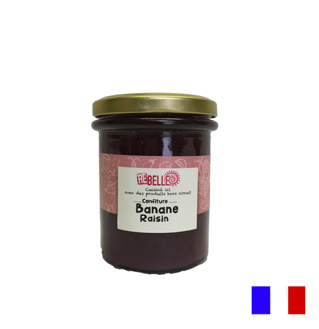 Confiture Re-Belle - Banane Raisin